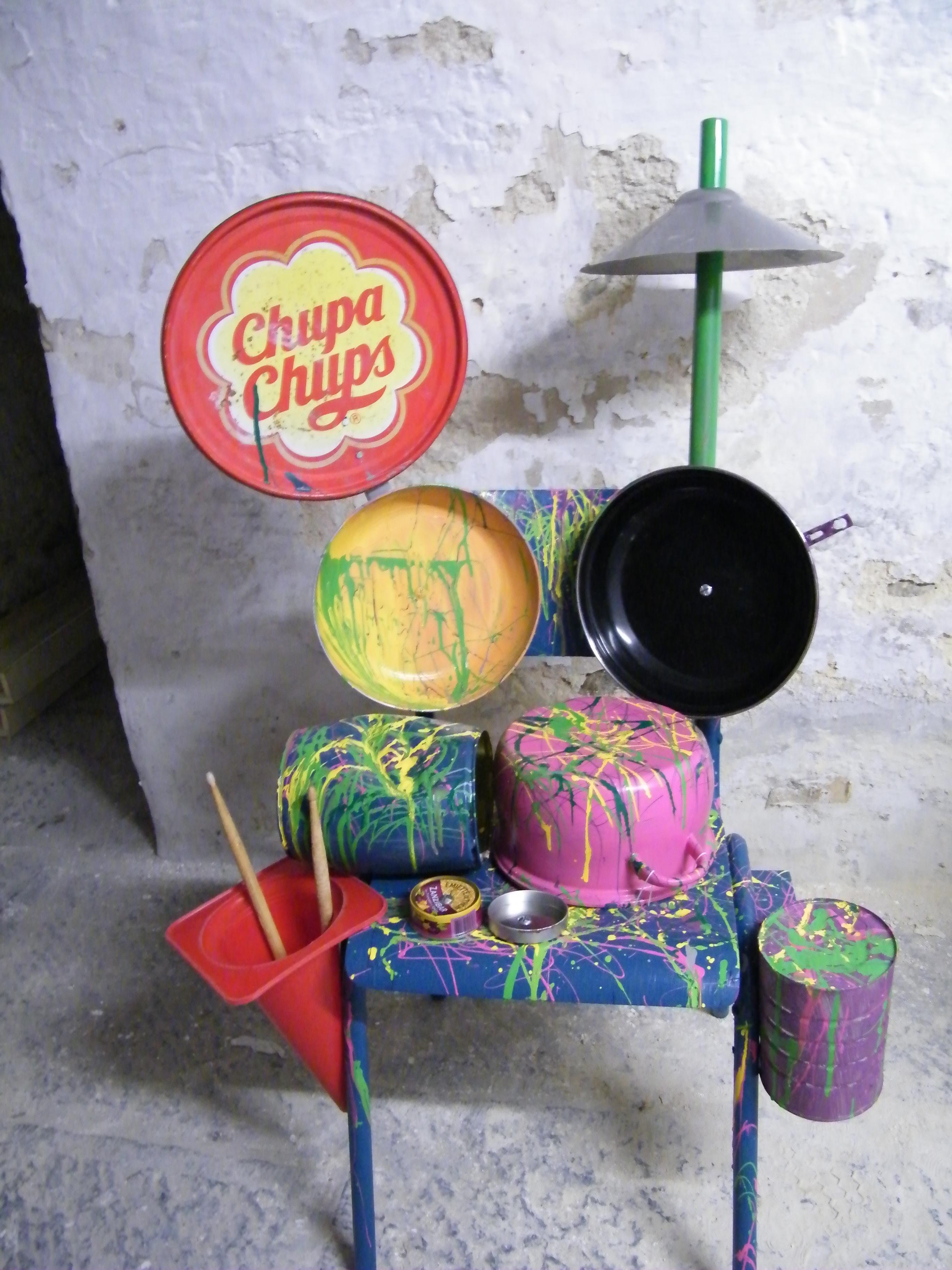 Favori Création d'instruments de musique à partir d'objets de () - KM53